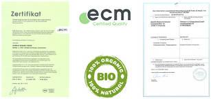 QS-Zertifikat und Bio-Zertifikat